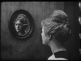 images - woman in mirror